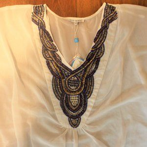 Blue Island Cover Up Tunic Sz. XL